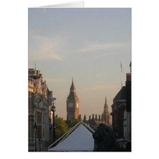 Big Ben - Westminister Card