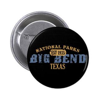 Big Bend National Park 6 Cm Round Badge