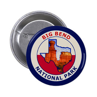 Big Bend National Park Pinback Button