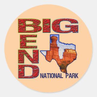 Big Bend National Park Classic Round Sticker