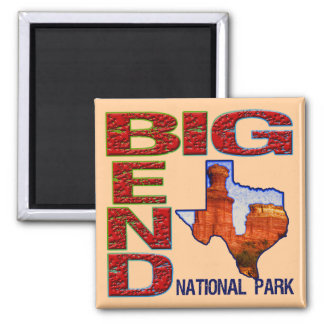 Big Bend National Park Refrigerator Magnets