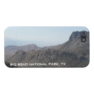 Big Bend National Park-Mountain View iPhone 5/5S Covers