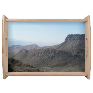 Big Bend National Park-Mountain View Service Trays