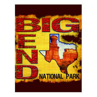 Big Bend National Park Post Card