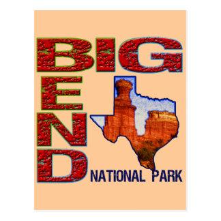 Big Bend National Park Postcard