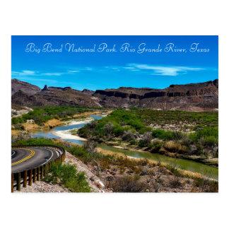 Big Bend National Park Rio Grande River Texas Postcard
