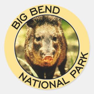 Big Bend National Park Round Sticker
