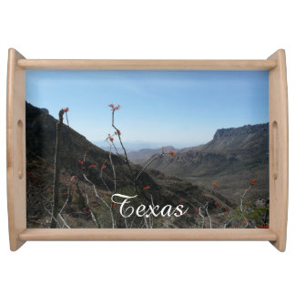 Big Bend National Park/Texas-Mountain View Serving Tray