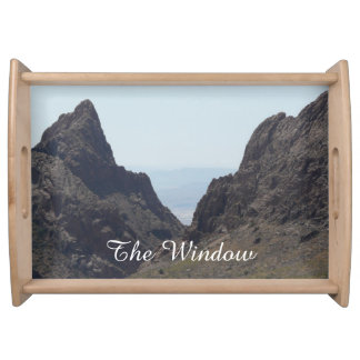 Big Bend National Park/Texas-The Window Trail View Service Tray