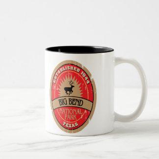 Big Bend National Park Two-Tone Coffee Mug