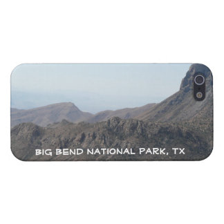 Big Bend National Park, TX-Mountain View/Customize iPhone 5 Cases