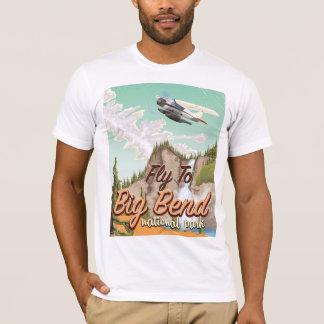 Big bend national park vintage travel poster T-Shirt