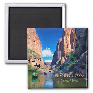Big Bend Texas National Park Mariscal Canyon Square Magnet