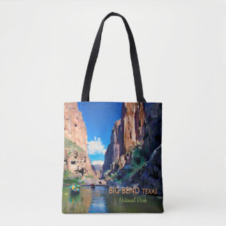 Big Bend Texas National Park Mariscal Canyon Tote Bag