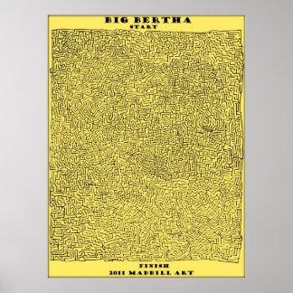 Big Bertha Maze Print