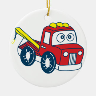 Big Bertha Tow Truck Ornament