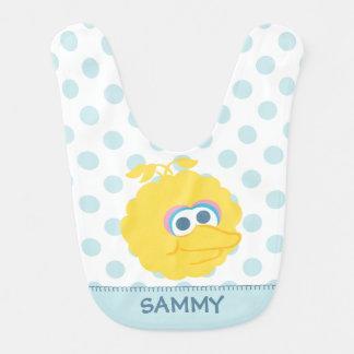 Big Bird Baby Big Face   Add Your Name Bib