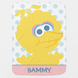Big Bird Baby Body | Add Your Name Baby Blanket