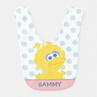 Big Bird Baby Body | Add Your Name Bib