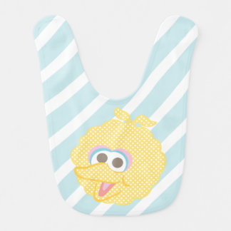 Big Bird Baby Polka Dot Big Face Bib