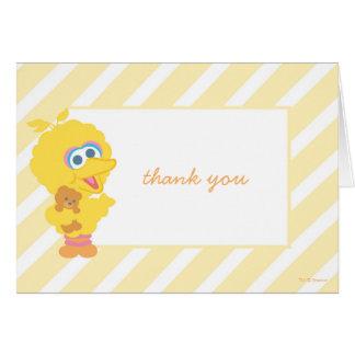 Big Bird Baby Shower Thank You Card