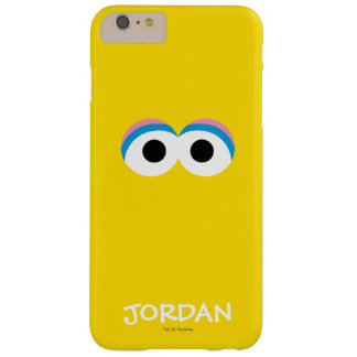 Big Bird Big Face | Add Your Name Barely There iPhone 6 Plus Case