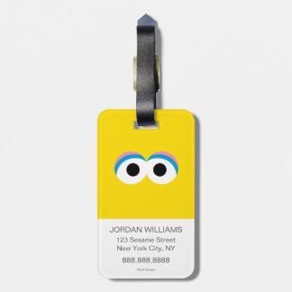 Big Bird Big Face Luggage Tag