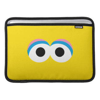 Big Bird Big Face MacBook Sleeve