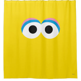 Big Bird Big Face Shower Curtain