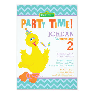 Big Bird Birthday Card