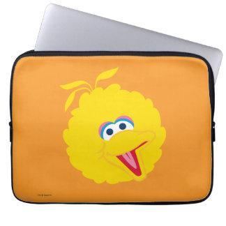 Big Bird Face Laptop Sleeve