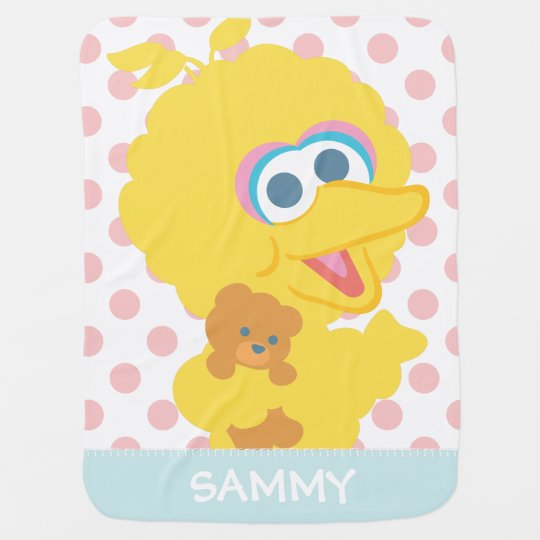 Big Bird Holding Teddy Bear | Add Your