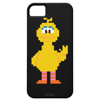 Big Bird Pixel Art Barely There iPhone 5 Case