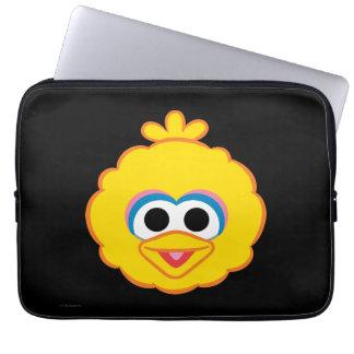 Big Bird Smiling Face Laptop Sleeve