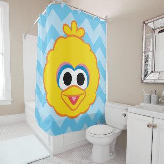 Big Bird Smiling Face Shower Curtain