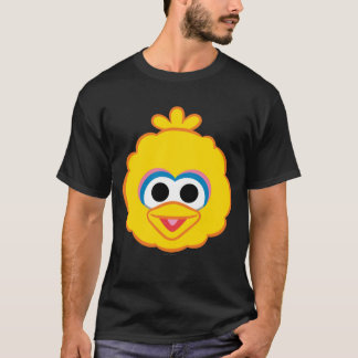 Big Bird Smiling Face T-Shirt