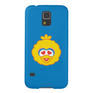Big Bird Smiling Face with Heart-Shaped Eyes Galaxy S5 Covers