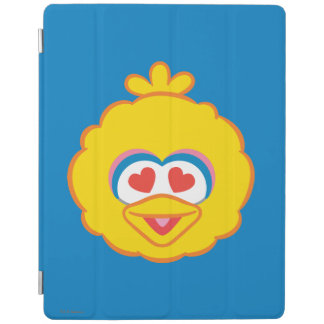 Big Bird Smiling Face with Heart-Shaped Eyes iPad Cover