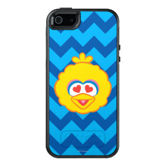 Big Bird Smiling Face with Heart-Shaped Eyes OtterBox iPhone 5/5s/SE Case