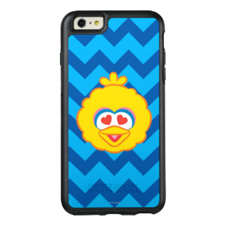 Big Bird Smiling Face with Heart-Shaped Eyes OtterBox iPhone 6/6s Plus Case