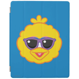 Big Bird Smiling Face with Sunglasses iPad Cover