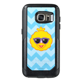 Big Bird Smiling Face with Sunglasses OtterBox Samsung Galaxy S7 Case