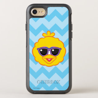 Big Bird Smiling Face with Sunglasses OtterBox Symmetry iPhone 8/7 Case