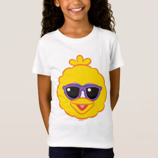 Big Bird Smiling Face with Sunglasses T-Shirt