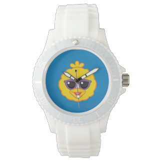 Big Bird Smiling Face with Sunglasses Watch