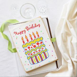 Big Birthday Cake Cookie