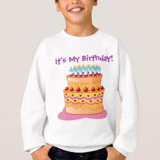 Big Birthday Cake Sweatshirt