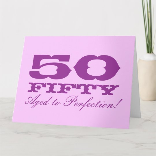 Big Birthday Card For Women