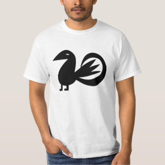 Big Black Bird Super Duper Yes T-Shirt