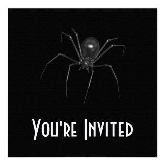 Big Black Creepy 3D Spider Announcement